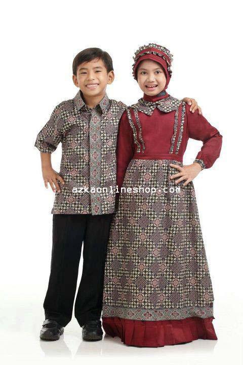 Gamis Batik Toko Gamis Muslim Cantik